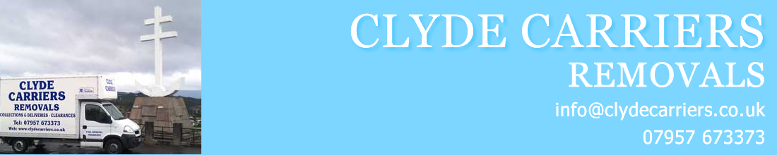 clyde carriers, a removal company in Greenock, Gourock, Port Glasgow, Kilmacolm, Langbank, Bishopton,Erskine, Inverkip, Wemyss Bay, Skelmorlie and Largs van hire, van rental, taxi van rental, taxi van hire, Greenock van hire,